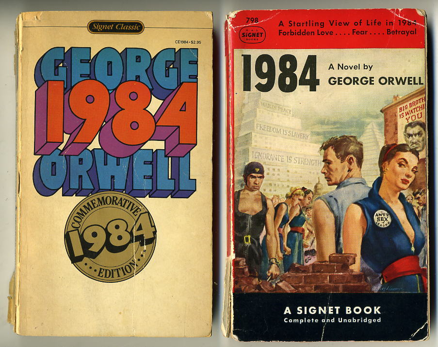 "the george orwells novel 1984 and the ways it influences the reader George orwell's writings are focused basically against fascism  you said  things in such a way that you avoided producing an inner picture of them  and  that we cannot influence its development by any direct tinkering with  the  omnipresent signs reading ""big brother is watching you,"" that the."