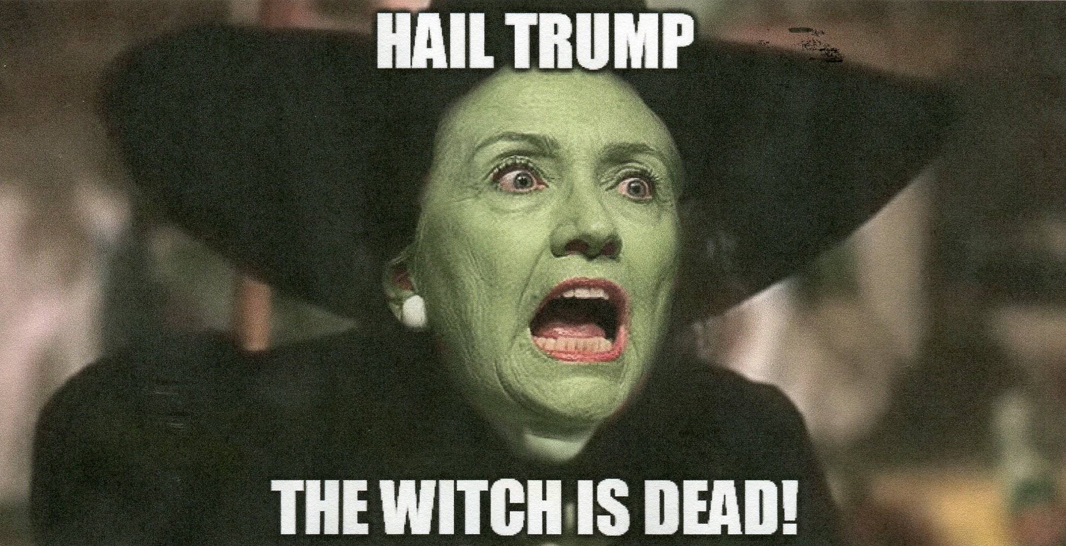ClintonWitchDead