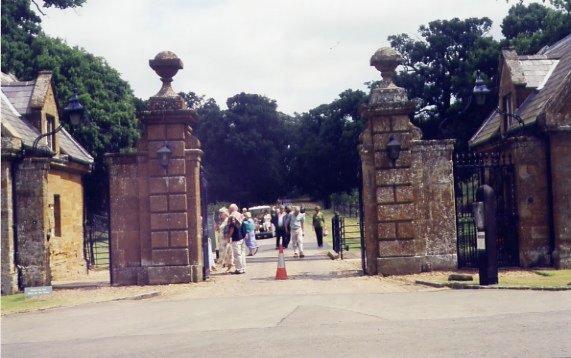 Diana's Front Gate