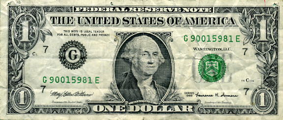 FedReserve $1 Bill