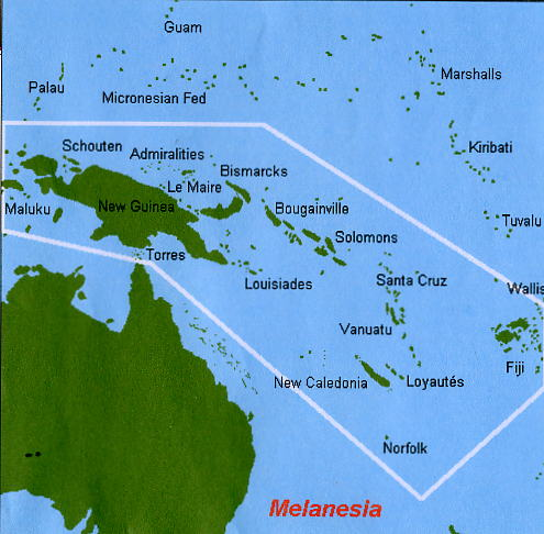 Melanasia Islands