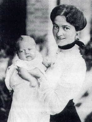 Baby Orwell & Mother