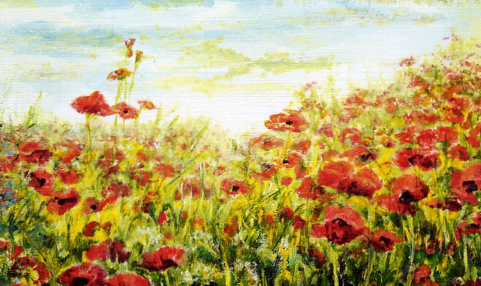 PoppyFieldMouthPainting