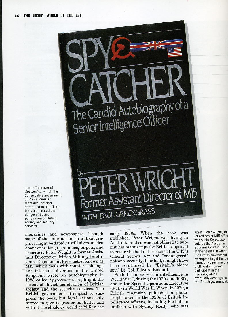 Spycatcher Cover