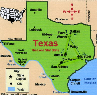 Pin Fort Worth Texas On Map On Pinterest
